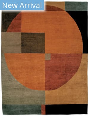Tufenkian Knotted Compass Autumn Area Rug