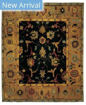 Tufenkian Tibetan Zagros II Black Area Rug