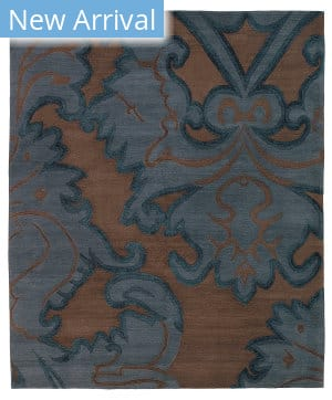 Tufenkian Tibetan Implied Damask Midnight Area Rug