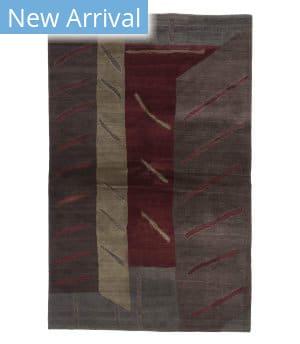 Tufenkian Tibetan Aria Red Wine Area Rug