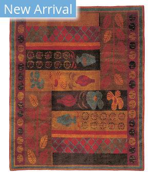 Tufenkian Tibetan Hothouse Midnight Area Rug
