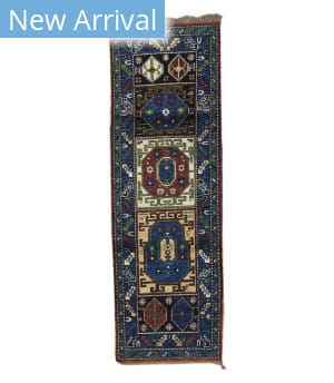 Tufenkian Knotted Kazak Ok Royal Blue Area Rug