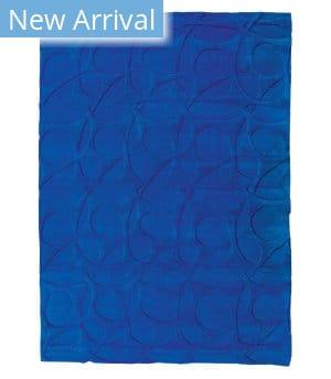 Tufenkian Tibetan Molecular Loop Killer Blue Area Rug