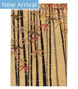Tufenkian Tibetan Bamboo Forest Golden Area Rug