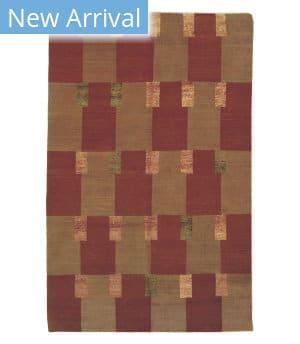 Tufenkian Tibetan Double Square Pepperberry Area Rug