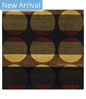 Tufenkian Tibetan Total Eclipse Black Area Rug