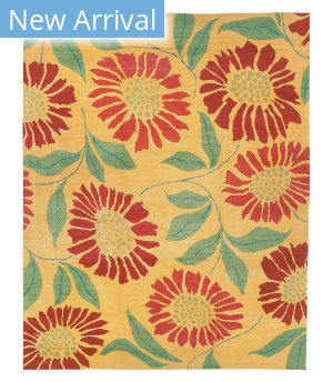 Tufenkian Tibetan Flower Power Sunshine Area Rug