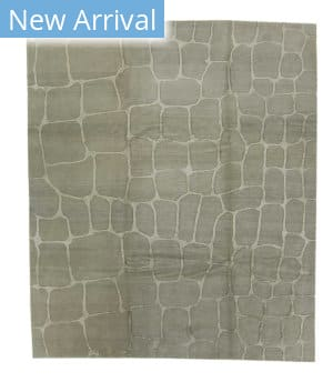 Tufenkian Tibetan Tibetan Cobblestone Cool Grey Area Rug