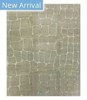 Tufenkian Tibetan Tibetan Cobblestone Grey Area Rug