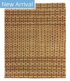 Tufenkian Tibetan Rag Weave Maple Area Rug
