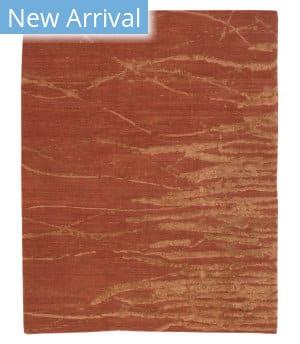 Tufenkian Tibetan Ven Coral Rust Area Rug