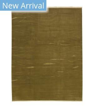 Tufenkian Knotted Tibetan Shakti Bronze/Silver Area Rug