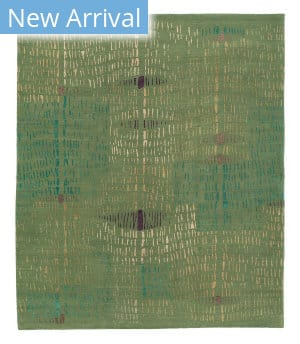 Tufenkian Tibetan Prati Rainforest Area Rug