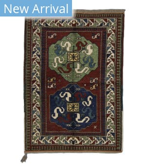 Tufenkian Knotted Chondzoresk II Red Area Rug