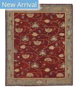 Tufenkian Tibetan Persian Branches Pomegranate Area Rug