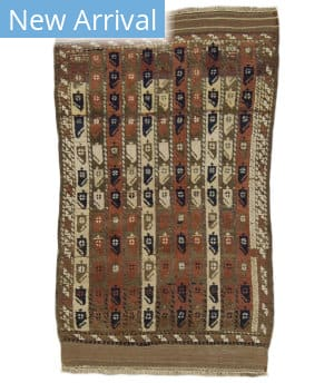 Tufenkian Knotted Boteh 4 Area Rug