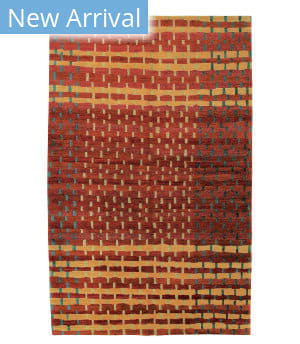 Tufenkian Tibetan Rag Weave Firewater Area Rug