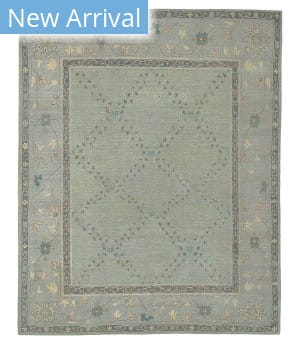 Tufenkian Tibetan Montrose Blue Mist Area Rug
