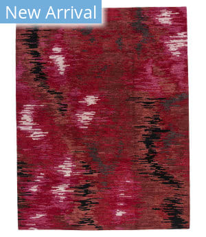 Tufenkian Tibetan Borealis Crimson Area Rug