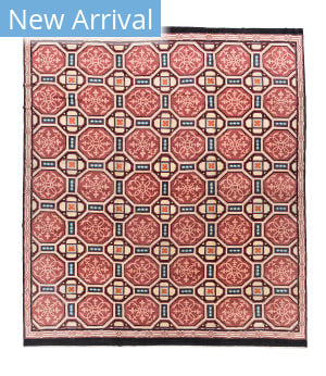 Tufenkian Tibetan Cathedral Rose Area Rug