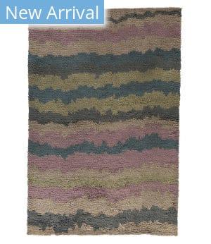 Tufenkian Knotted Skoura Lavender Sample Area Rug