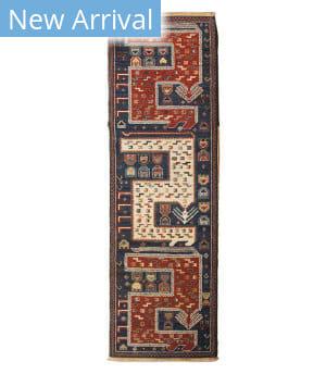 Tufenkian Knotted Vishap Kazakh  Area Rug