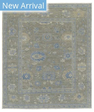 Tufenkian Knotted Firjustan Creek Sheared Area Rug