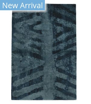 Tufenkian Tibetan Chevron Wsl Blue Area Rug