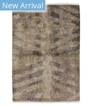 Tufenkian Knotted Chevron Wb Brown Area Rug