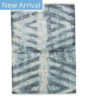 Tufenkian Knotted Trinity Blue Area Rug