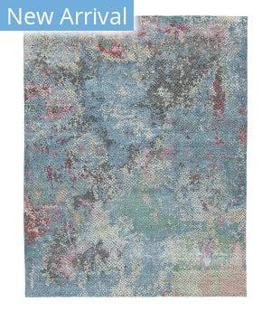 Tufenkian Knotted Kilobhave Blue Area Rug