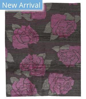 Tufenkian Tibetan Kevin Walz Lux Rose 338p Area Rug