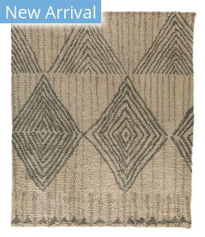 Tufenkian Knotted Loom V8 Taupe Area Rug