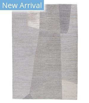 Tufenkian Tibetan Mondrian Alabaster Area Rug