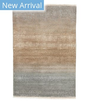 Tufenkian Knotted Rocha Grey Coral Area Rug