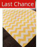 Rugstudio Sample Sale 103704R Yellow Area Rug