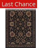 Dalyn Meridian MN-82 Black Area Rug