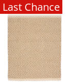 Rugstudio Sample Sale 129963R Camel - Ivory Area Rug