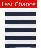 Rugstudio Sample Sale 158898R Navy - White Area Rug