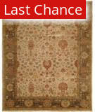 Rugstudio Sample Sale 13538R Ivory-Twilight Area Rug