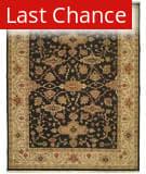 Rugstudio Sample Sale 136741R Black/Ivory Area Rug