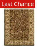 Rugstudio Sample Sale 23967R Brown-Ivory Area Rug