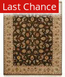 Rugstudio Famous Maker 39513 Cocoa Brown-Sand Area Rug