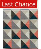 Rugstudio Sample Sale 158260R Charcoal Gray and Cloudburst Area Rug