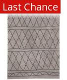 Rugstudio Sample Sale 196492R Light Gray - Dark Gray Area Rug
