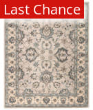 Rugstudio Sample Sale 169911R String - Silver Blue Area Rug