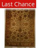 J. Aziz Antiqued Jaipur Fwn-Fwn 86846 5' 11'' x 9' 1'' Rug