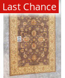 J. Aziz Peshawar Brown-Beige 86956 6' 3'' x 8' 8'' Rug