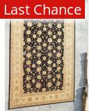 J. Aziz Peshawar Black-Beige 86932 12' 1'' x 17' 9'' Rug