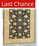 J. Aziz Peshawar Black-Beige 86997 9' 1'' x 11' Rug